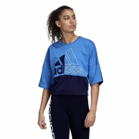 ADIDAS MUST HAVES COLOR BLOCK TEE