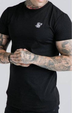 SIKSILK STRAIGHT HEM GYM TEE