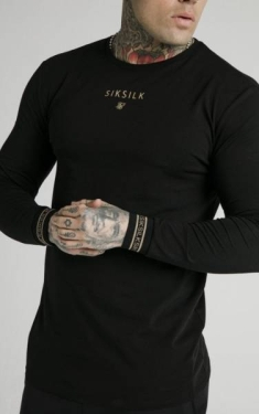 SIKSILK ELEMENT LONGSLEEVE TEE