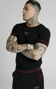 SIKSILK IMPERIAL STRAIGHT TECH TEE