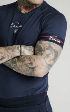 SIKSILK RAGLAN TECH EXPOSED TEE