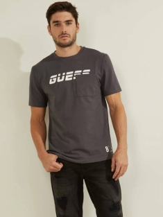 GUESS STRETCH JERSEY TEE