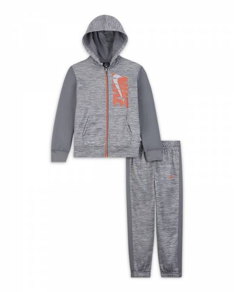 NIKE COLORBLOCK THERMA PANT SET