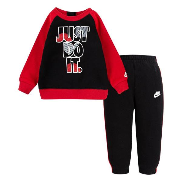 NIKE JDI�FLEECE�CREW�SET